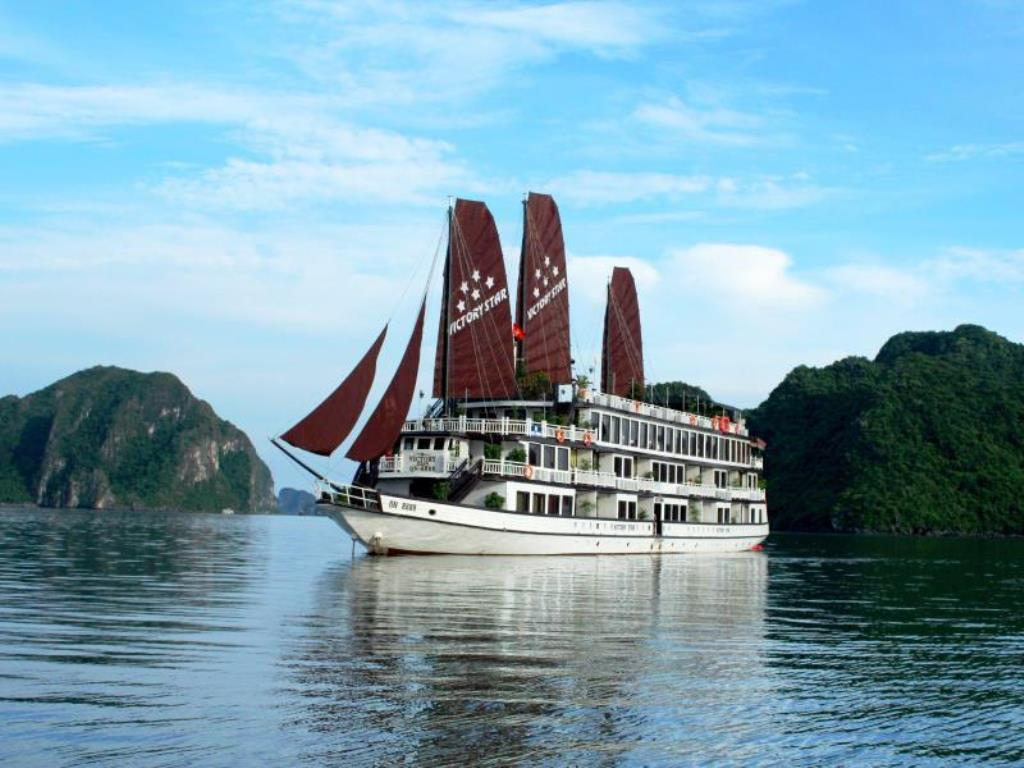 Victory Star Cruise Halong Bay Luxury Cruise With My Way